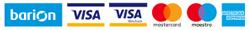 Bankkártyás fizetés - Barion rendszeren keresztül
