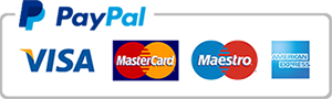 Bankkártyás fizetés - Paypal rendszeren keresztül